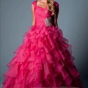Dresses & Skirts - Custom made Variety color option Modest prom dress